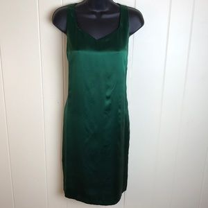 Banana Republic Green Sheath Dress